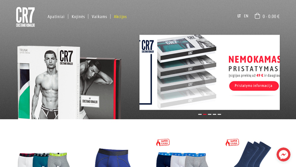 CR7shop.lt